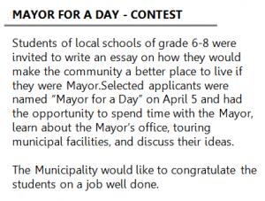 CONTEST -Mayor for a day (EN1) description