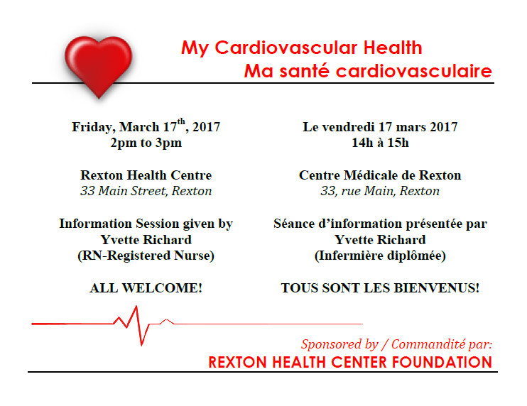 3- Cardiovascular Health Info Session -March 17