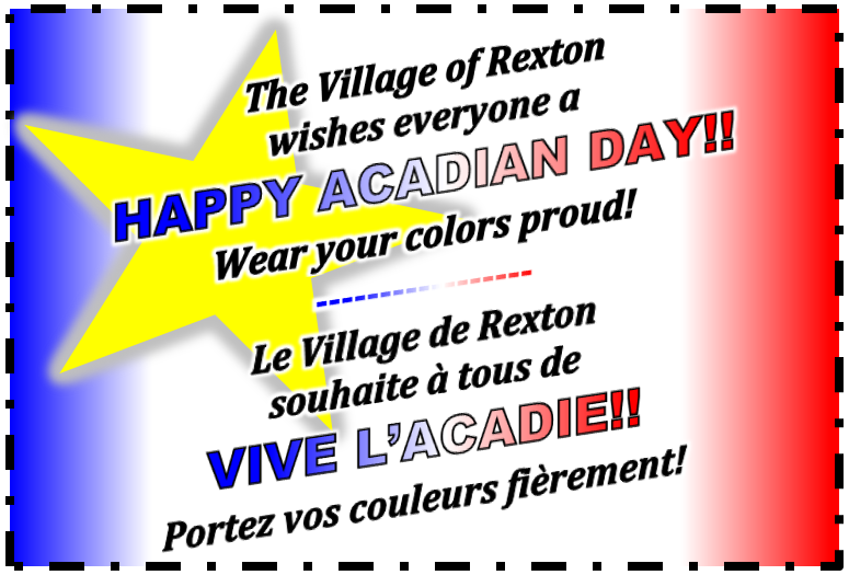 8- Acadian Day Wishes 15.08.2017