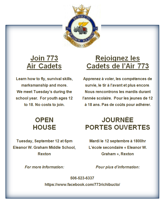 9- Air Cadet-OpenHouse -Sept 12