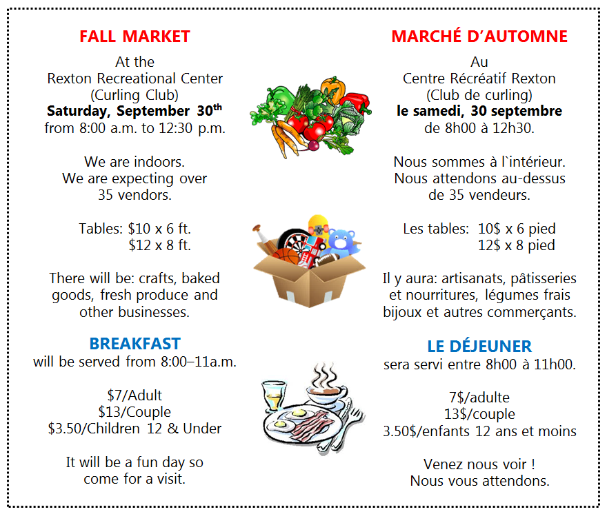 9- Fall Market & Breakfast -Sept 30.17