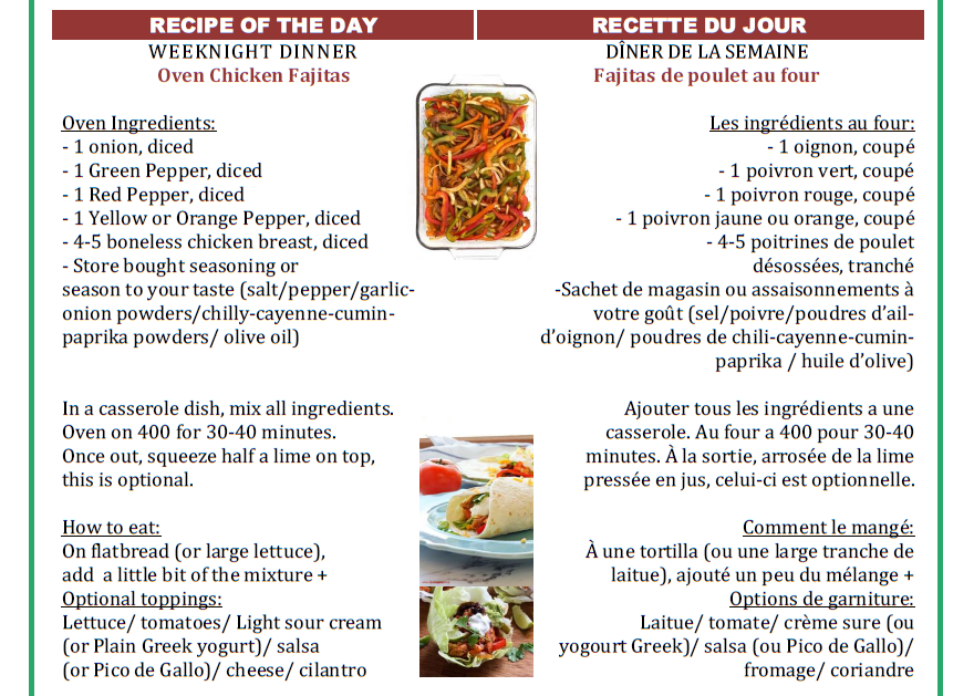 4- Recipe