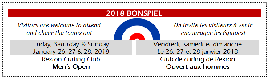 1- Men's Open BONSPIEL