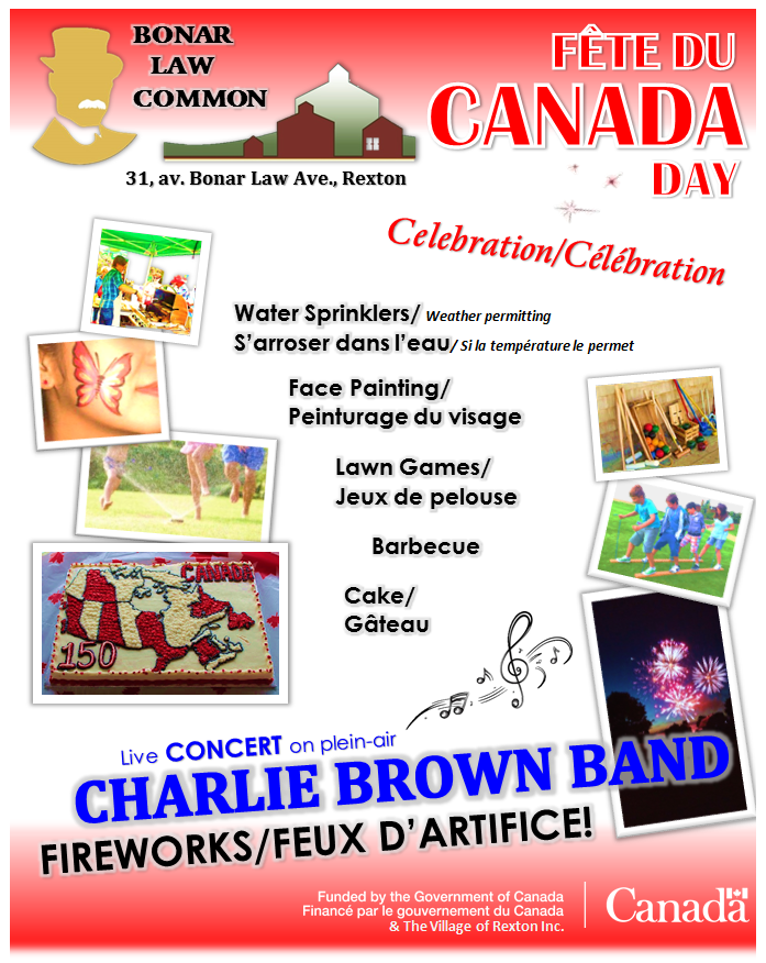 CANADA DAY Celebration Poster 01.07.2018