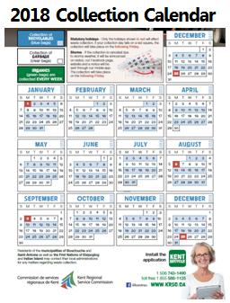 2018 Collection Calendar -3StreamProgam EN