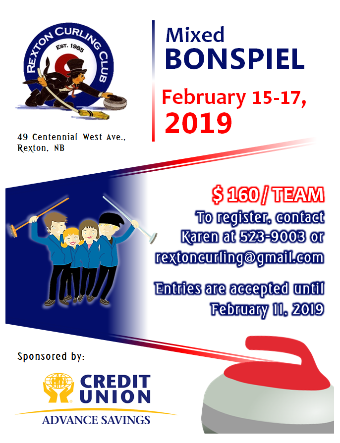 2- PIC. Mixed BONSPIEL -Feb.2019