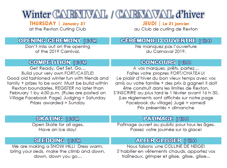 WINTER CARNIVAL - THURSDAY