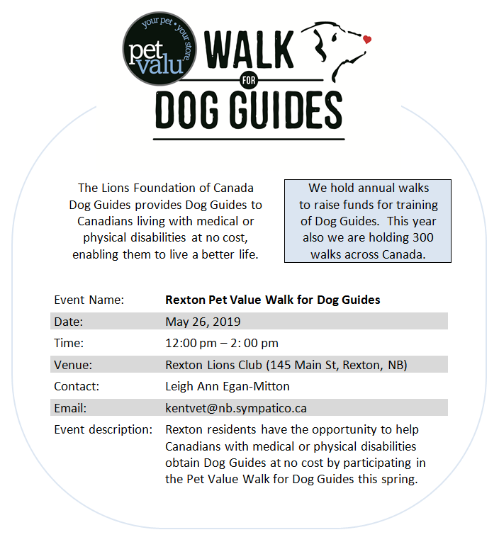 5- Walk for Dog Guides 26.05.2019