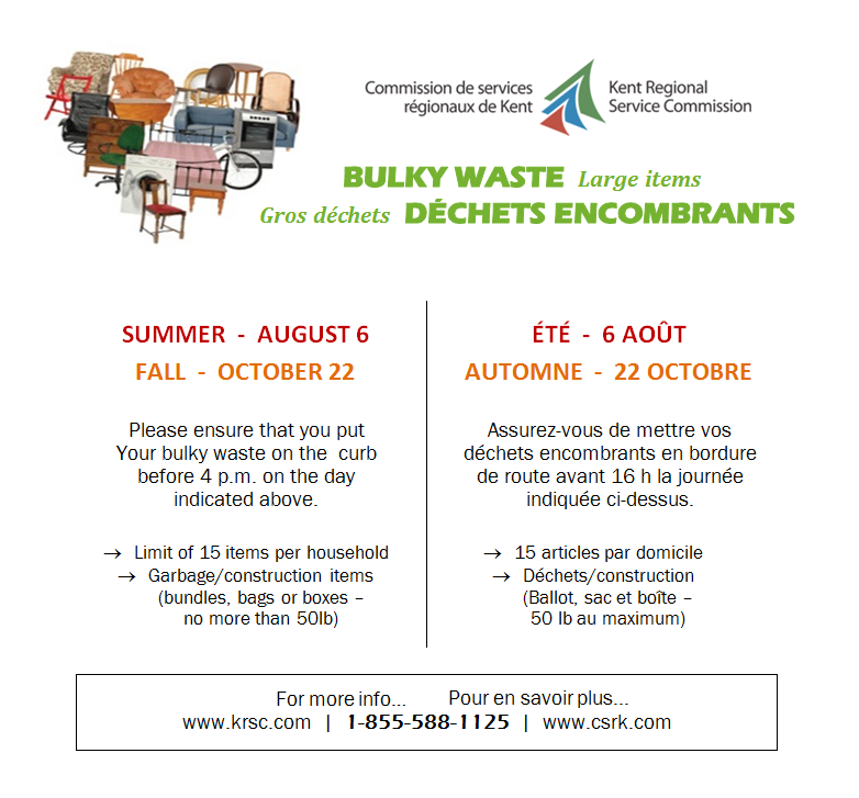 8- BULKY WASTE August 6