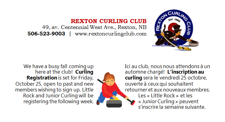 10- CURLING CLUB Registration 25.10.2019