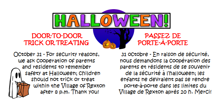10- HALLOWEEN safety reminder 31.10.2019