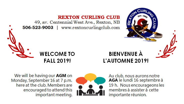 9- CURLING CLUB AGM 16.09.2019