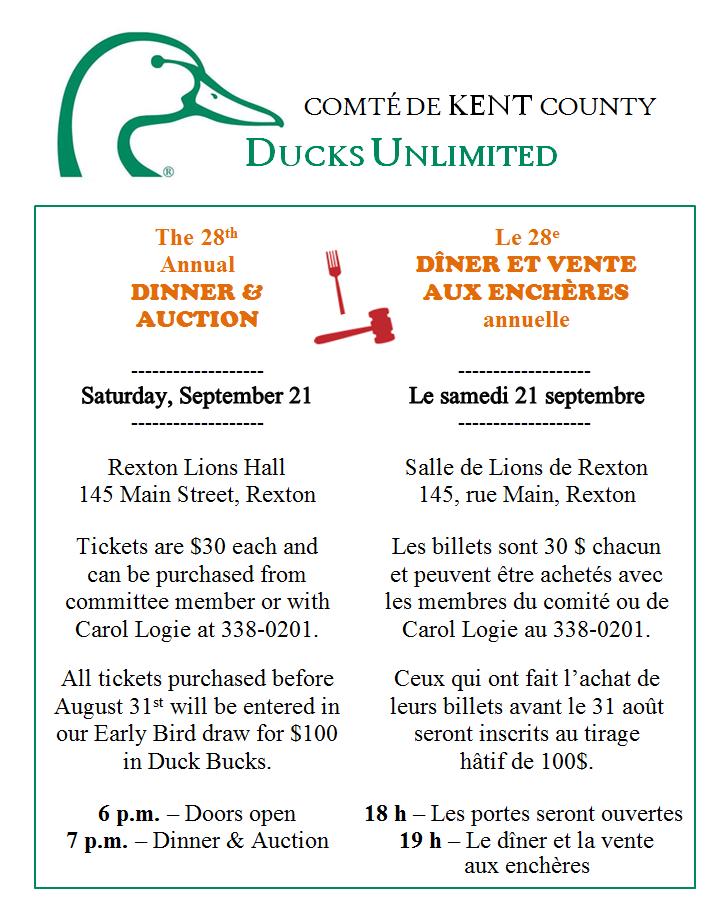 9- DINNER & AUCTION 21.09.2019