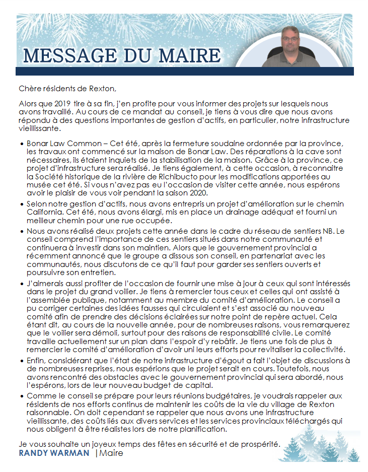 11- FR-Mayor's Message 22.11.2019