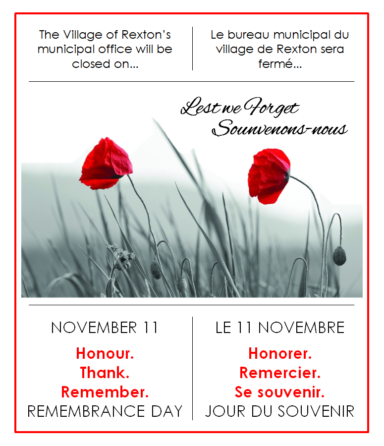 11- REMEMBRANCE DAY 11.11.2019