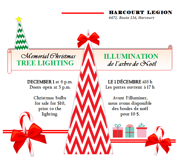 12- TREE LIGHTING Harcourt Legion 30.11.2019