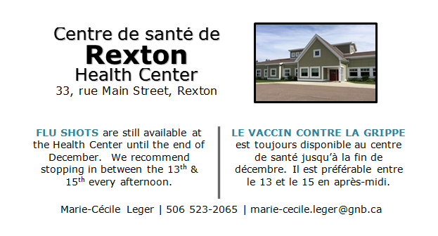 Health Center BULLETIN insert